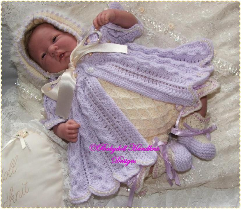 'Pearly Princess' 16-22 inch doll/0-3m baby-pearl, pearly, princess