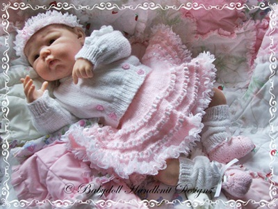 'Baby Ballerina' Outfit 16-22 inch doll/0-3m baby
