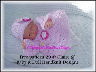 FREE Angel top/dress & tights set 7-12 inch doll