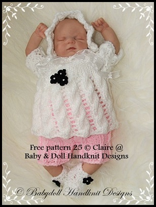 FREE Lacy Top & Shorts 7-12 inch doll