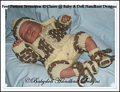 FREE Brick Patterned Suit for Premature Babies