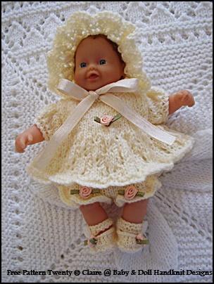FREE Angel Set 7-12 inch doll