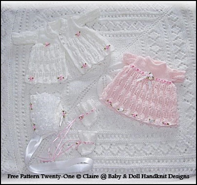 """FREE Flowers and Lace 13-18"""" doll"""