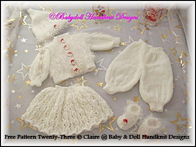 "FREE Boys and Girls Christmas Sets 16-18"" doll/Baby Born/Newborn"