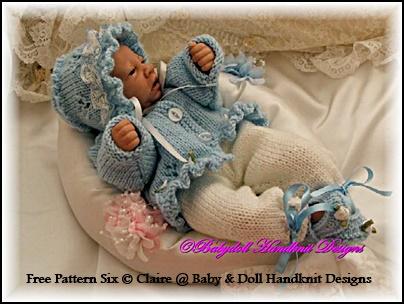FREE Frilled Jacket & Trouser set 10-16 inch dolls