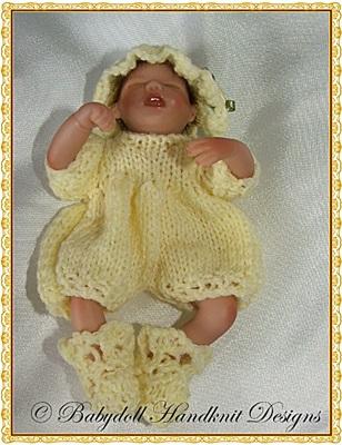 Romper Set 4-7 inch dolls