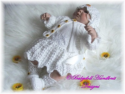 1920s Style Dress and Jacket Set 16-24 inch doll/0-3m baby