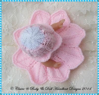 Flower Fairy Dress Set 5 & 8 inch Berenguer Doll