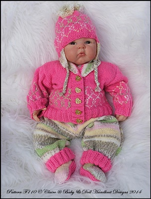 'A Bit Random' Part Two 16-22 inch doll/0-3m+ baby