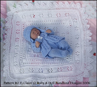 Layette for 7-12 inch doll