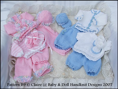 Mix 'n' Match Set for 8-13 inch boy or girl