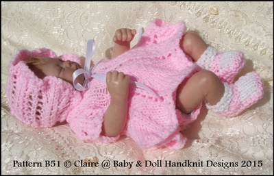 Petal Skirt Dress Set 7-12 inch doll