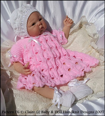 'English Country Garden' 16-22 inch doll/preemie/0-3m+ baby
