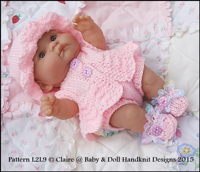 Summer Suit 10 inch & 14 inchcLots to Love Berenguer doll