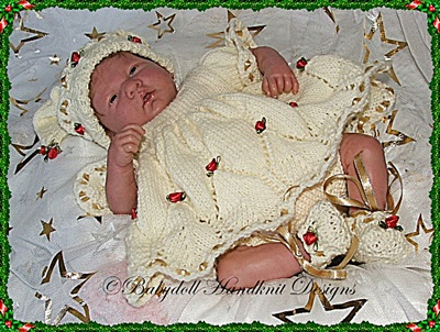 Christmas Girly Elf pattern 10-16 inch dolls