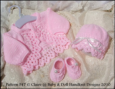 Boleros & Hats 16-22 inch dolls/0-3m baby
