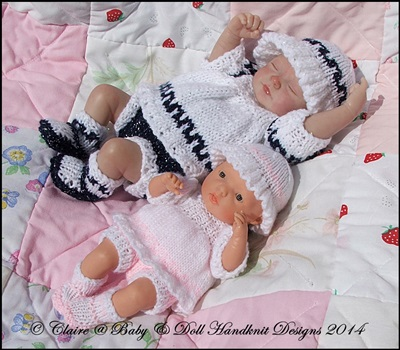 Greek Inspired Summer Suit 7-12 inch doll