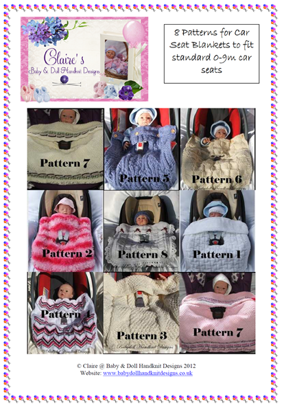 Car Seat Blanket Collection