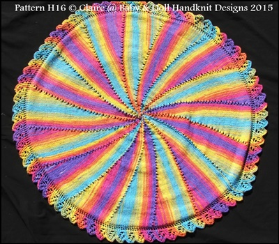 Circular Shawl/Throw/Blanket