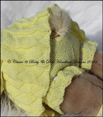 Pleated Style Coat Set 16 inch Teddy or Build a Bear Animal