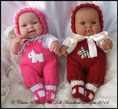 Dungaree Set 14 inch Lots to Love Berenguer doll
