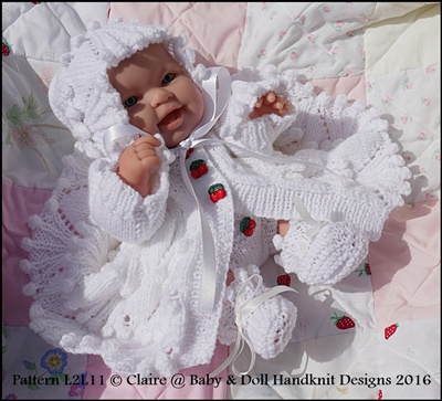 Bunches of Cherries Coat Set 14 inch Lots to Love Berenguer doll