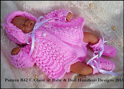 Traditional Matinee Set 7-12 inch doll