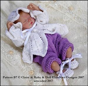 Chevron Matinee Set 7-12 inch doll