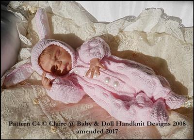Bunny or Teddy all in one 8-14 inch dolls
