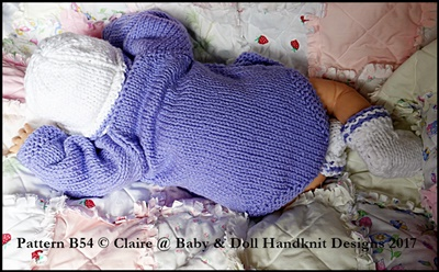 """Button Front Body Suit, Hat & Boots for 10-22"""" dolls"""