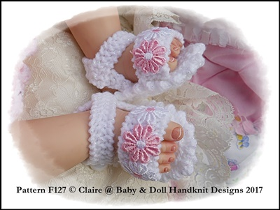 Summer Diamond Pattern Suit 16-22 inch doll/prem-3m+ baby