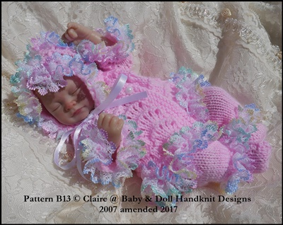 'Lacy Waves' 8-13 inch doll