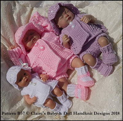 Summer Pram Set 8-13 inch doll