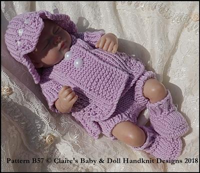 Summer Pram Set 8-13 inch doll