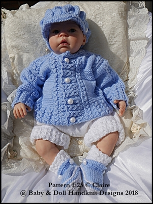 "'Baby Tommy' Set 16-22"" dolls/newborn/0-3m baby"