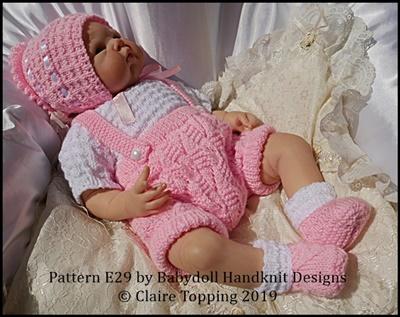 Traditional Shorts & Shirt Set 16-22 inch dolls/newborn/0-3m baby