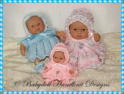 Panelled Dress set 5-8 inch Chubby Berenguers