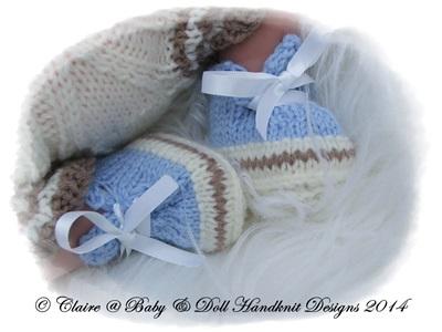 Jacket & Shorts Set for 10-16 inch doll/preemie baby