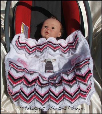 Car Seat Blankets/Covers (Pattern 2) Standard 0-9m car seat