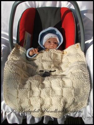 Chunky & Super Chunky (Bulky/Superbulky) Winter Car seat blankets