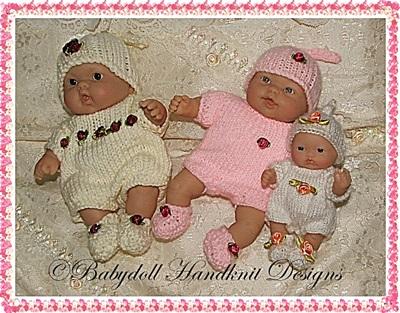 Romper Set Chubby Berenguer 5-8 inch Dolls