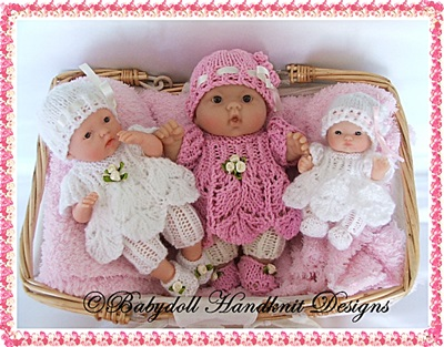 Dress and Leggings Set 5-8 inch Berenguer dolls
