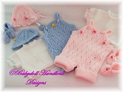 Short dungaree set 16-24 inch doll/newborn/0-3m baby boy/girl