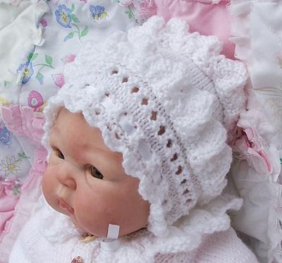 Fern Lace 14-26 inch doll/preemie-6m baby