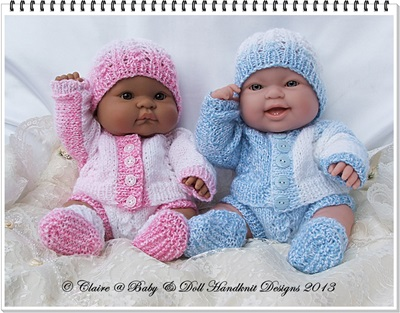 Dolman Cardi & Pants set 14 inch Lots to Love Berenguer Dolls