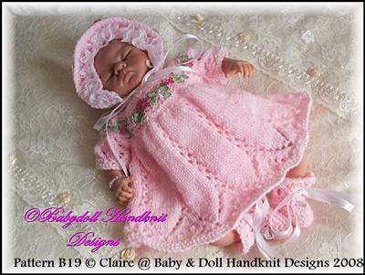 Summer dress set for 8-13 inch dolls