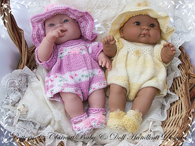 Romper Set  for 14 inch Lots to Love Berenguer Doll