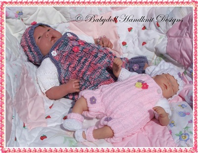 Short Dungaree & Bandana Set 10-16 inch doll