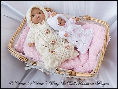 Sleeping Bag for 5 & 8 inch Chubby Berenguer dolls