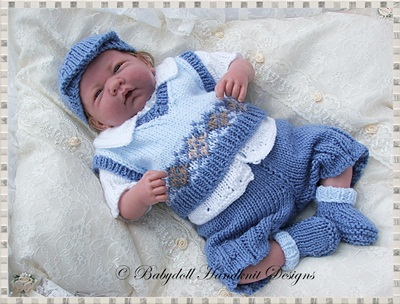 Traditional Slipover & Outfit 10-16 inch doll